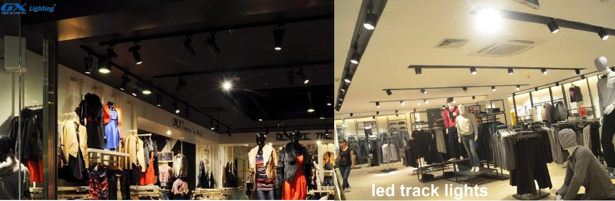 đèn led rọi ray showroom
