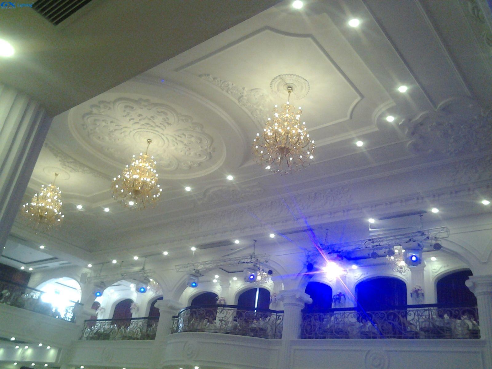 Đèn led trang trí nhà hàng Queen Bee